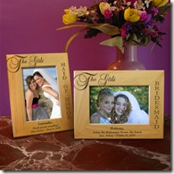 The Girls, My Bridesmaids Wooden Picture Frame