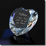Crystal Heart Keepsake
