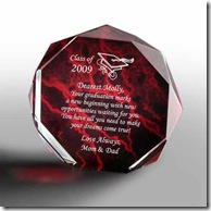 Marbleized Graduation Keepsake