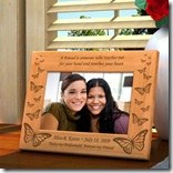 Butterfly Wooden Frame