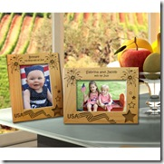 4th of July Wooden Picture Frame