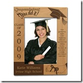 Congratulations Graduate Wooden Picture Frame