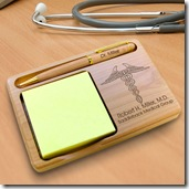 Doctor Notepad & Pen Holder