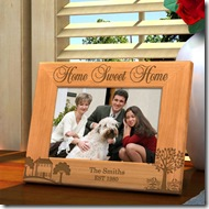 Home Sweet Home Wooden Picture Frame