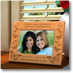 ButterflyWoodenPictureFrame