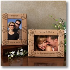 CandyHeartsWoodenPictureFrame