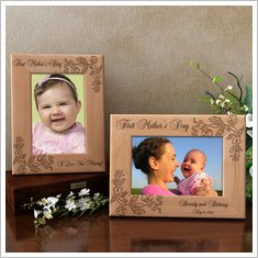 FirstMothersDayWoodenPictureFrame