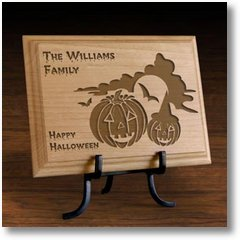 HappyHalloweenWoodenPlaque