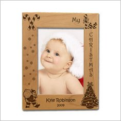 MyFirstChristmasWoodenPictureFrame