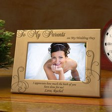 Wedding Bride Picture Frame