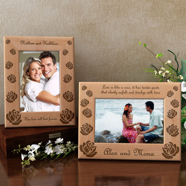 Make Your Own Rose Wooden Picture Frame