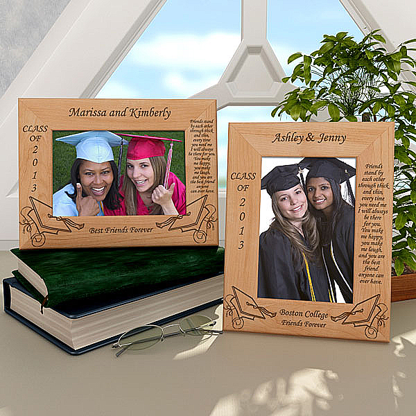 Friendship Graduation Wooden Picture Frame