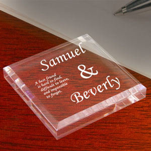 Best Friends Keepsake & Paperweight