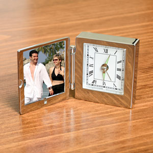 Picture Frame and Desk Clock