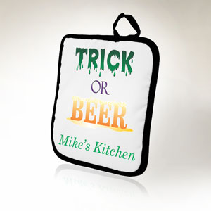 Trick or Beer Pot Holder