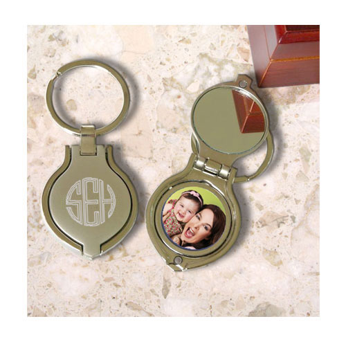 Key Chain with Mirror & Picture Frame