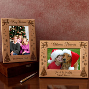 Christmas Memories Wooden Picture Frame