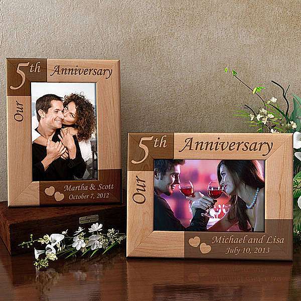 Our Anniversary Wooden Picture Frame
