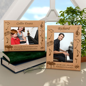 Piano Wooden Picture Frame