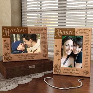 What it Means to be a Mother Wooden Picture Frame
