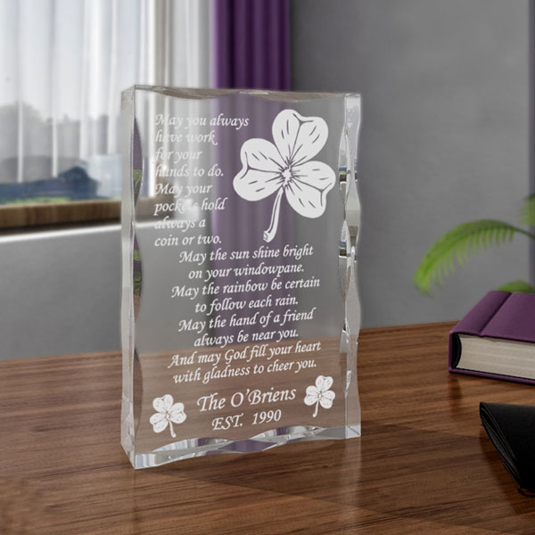 Irish Blessing Keepsake