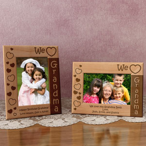 We Love...Wooden Picture Frame