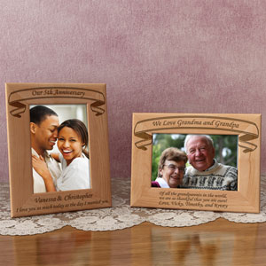Make Your Own Banner Title Wooden Picture Frame