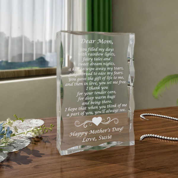 Mom Poem Keepsake