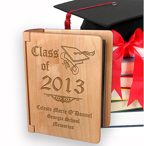 Class Of...Wooden Photo Album