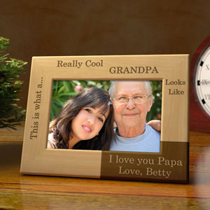 You're Really Cool Wooden Picture Frame