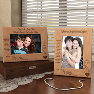 Forever My Mother Wooden Picture Frame