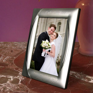 Monarch Silver Plated Picture Frame