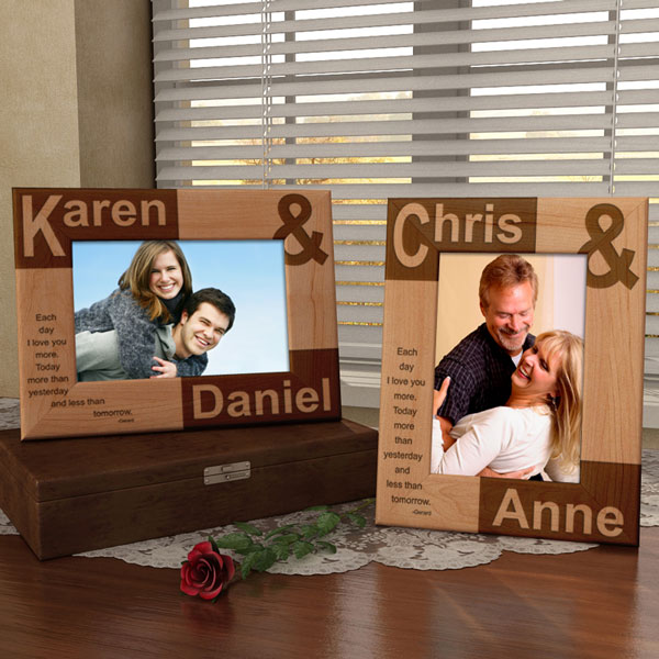 Make Your Own You and I Wooden Picture Frame