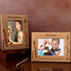 Guitar Wooden Picture Frame