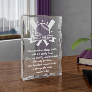 Baseball All-Star Keepsake