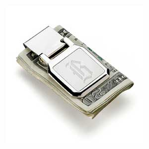 Square Face Money Clip