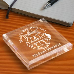 Architect Keepsake & Paperweight