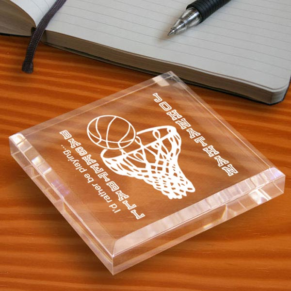 Basketball Keepsake & Paperweight