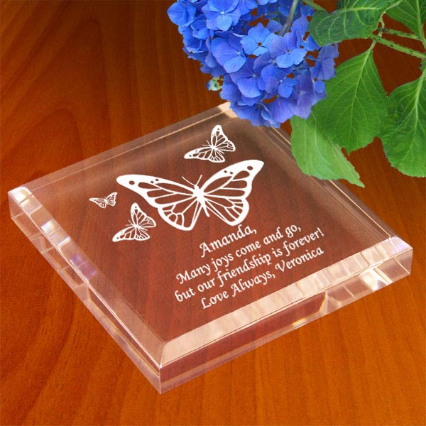 Butterfly Keepsake & Paperweight