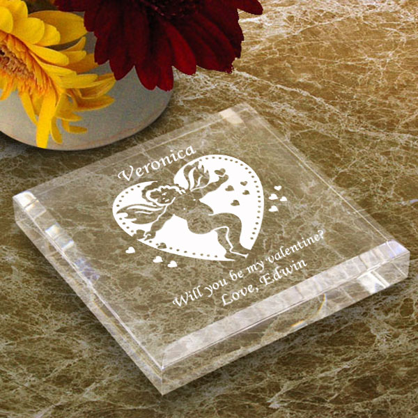 Valentine Cupid Keepsake & Paperweight
