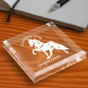 Cowboy Keepsake & Paperweight