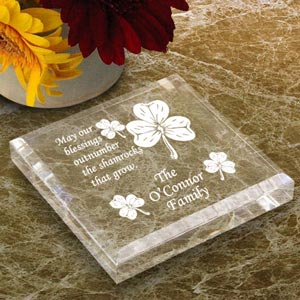 Irish Blessing Keepsake & Paperweight