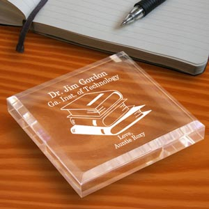 School Memories Keepsake & Paperweight