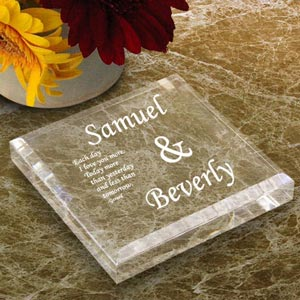 You & I Keepsake & Paperweight