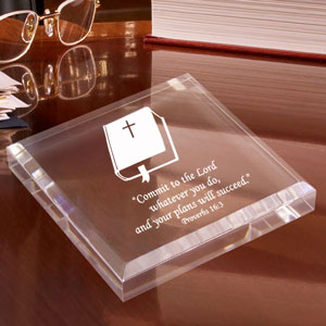 Bible Keepsake & Paperweight