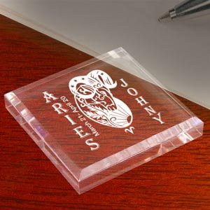 Zodiac Sign Keepsake & Paperweight