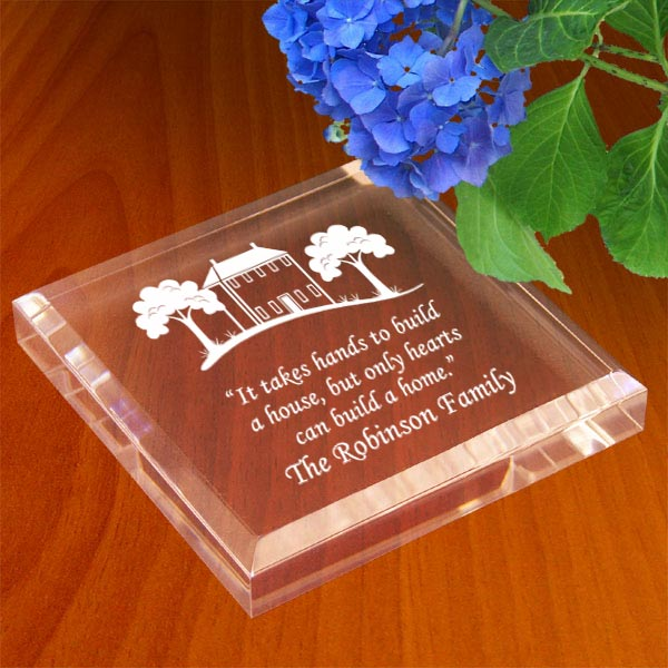 Home Sweet Home Keepsake & Paperweight