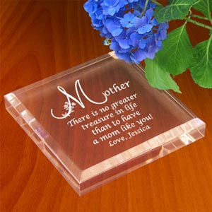 Motherly Treasure Keepsake & Paperweight