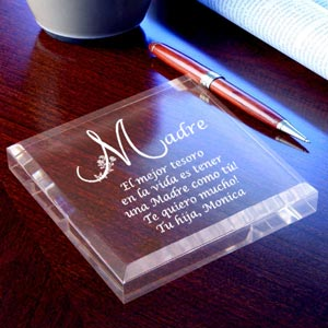 Spanish Motherly Treasure Keepsake & Paperweight