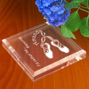 Ballet Keepsake & Paperweight